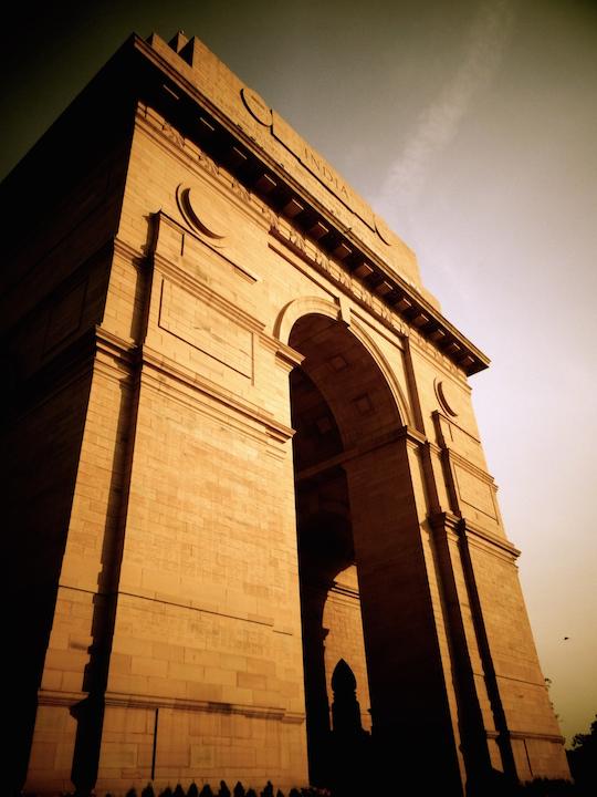 Delhi India Gate Inde New Delhi