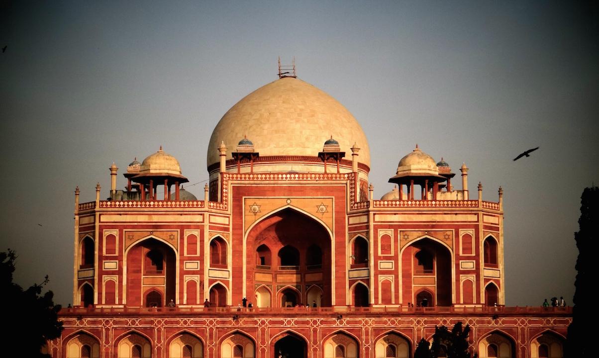 Delhi Humayun Tombe Inde Tomb New Delhi