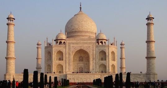 Agra Inde Taj Mahal