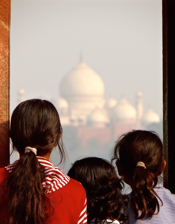 Agra Inde Taj Mahal Fort