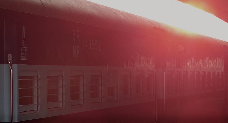 Train Inde Khajuraho Jaipur Agra