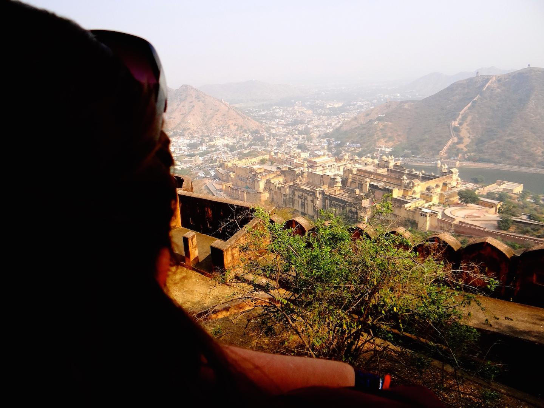 Jaipur Inde Rajasthan Amber Fort Ville Rose Jaigarh Fort