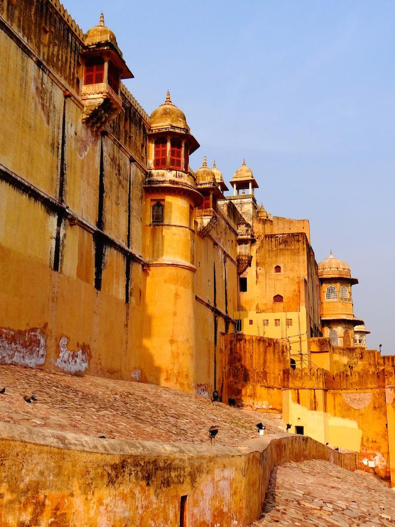 Jaipur Inde Rajasthan Amber Fort Ville Rose