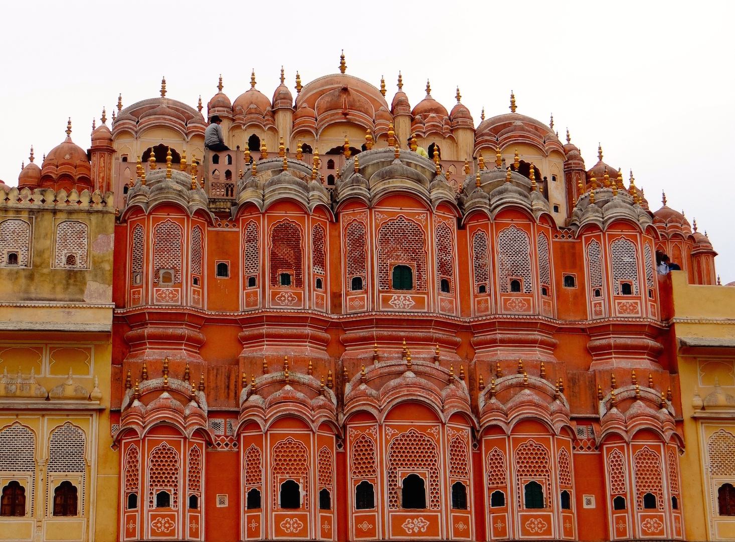 Hawa Mahal, Palais des Vents, Jaipur, Rajasthan, Inde, Inde du Nord