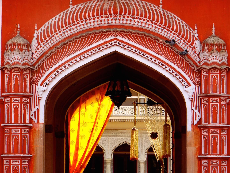 Jaipur Rajasthan Inde City Palace Ville Rose
