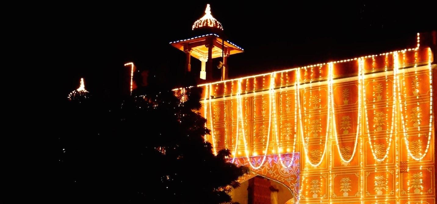 Jaipur Rajasthan Inde Old City Pink City Ville rose
