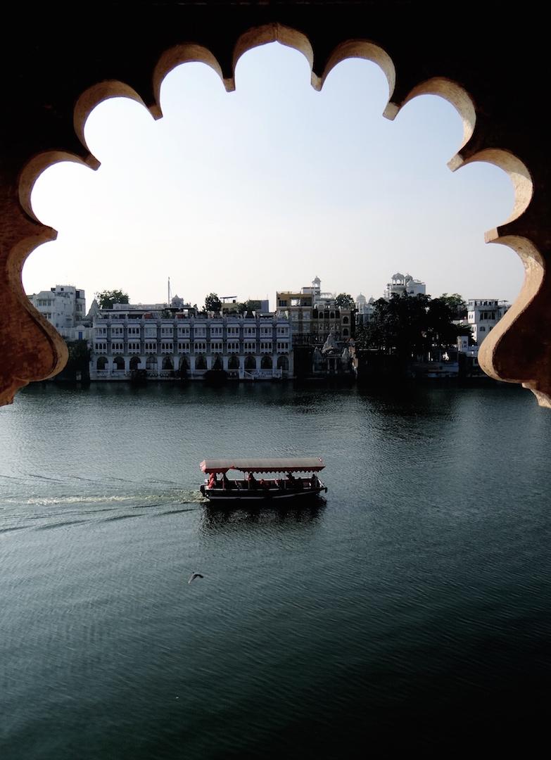 Udaipur Rajasthan Inde Inde du Nord Lac Pichola