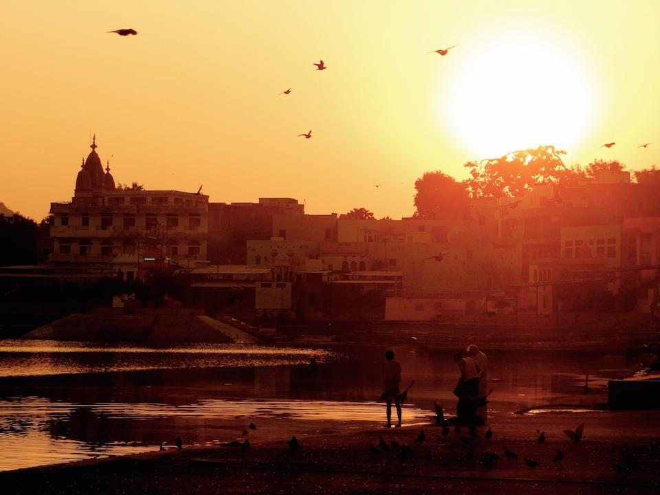 Pushkar Ville Sacrée Rajasthan