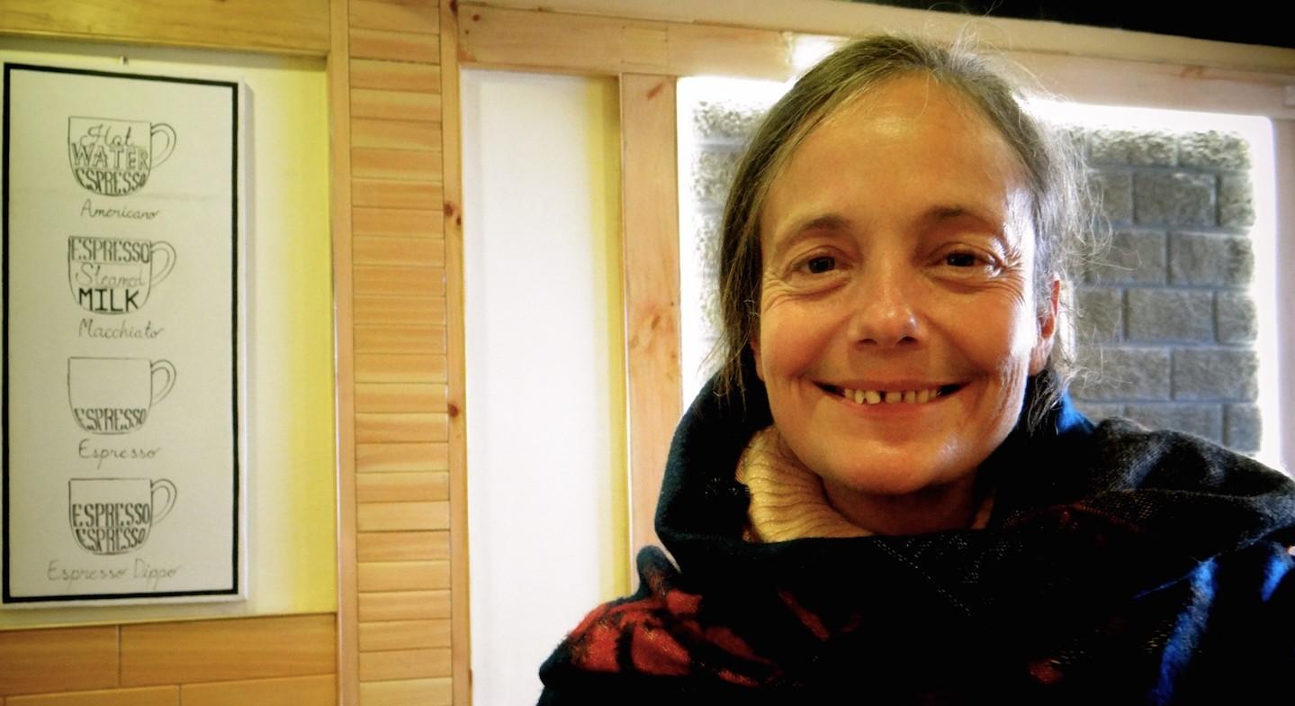 Ose Ailleurs Projet Photo Actes de Tendresse Valérie McLeod Ganj Himachal Pradesh Shambhala Coffee Meal Restaurant Tibétain Dalai Lama