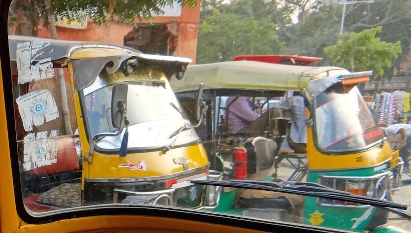 Inde Tuktuk
