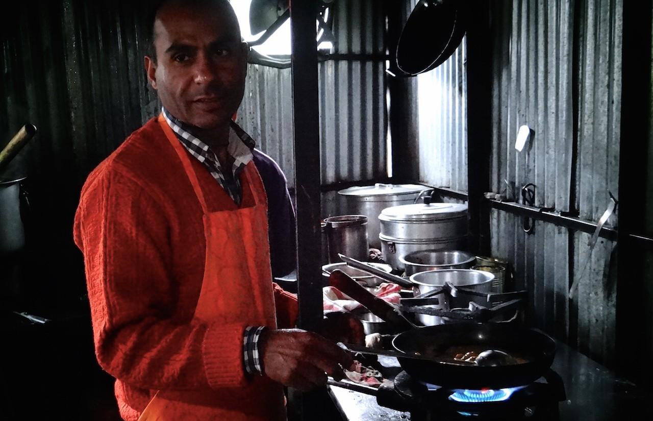 Bhimsen cours de cuisine curry