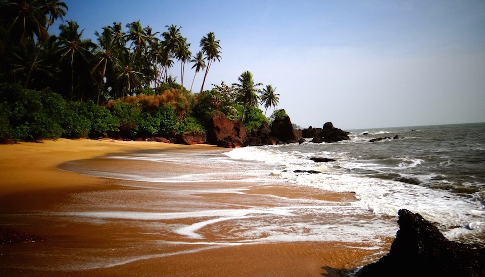 Kannur Kerala Waves beach Resort plage