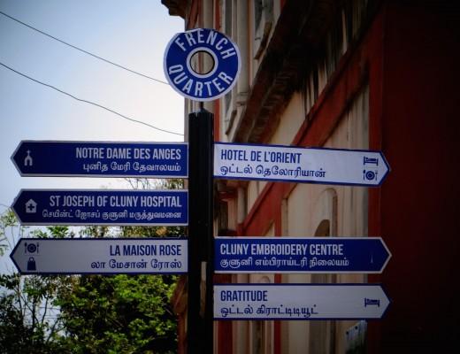 Pondichéry, comme un air de petite France !