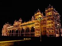 Mysore, un palais, des lumières et puis s'en va !